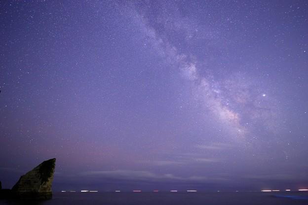 千葉 大波月海岸の星空