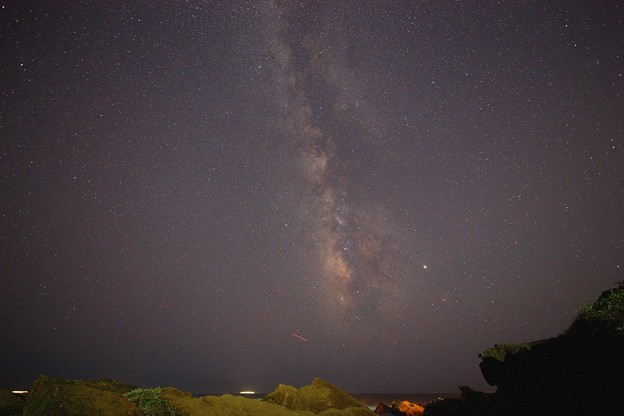 Photos: 野島崎灯台にて 天の川