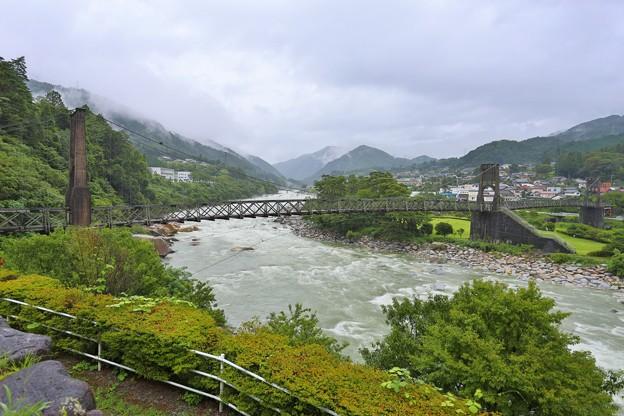 長野 南木曽町・桃介橋