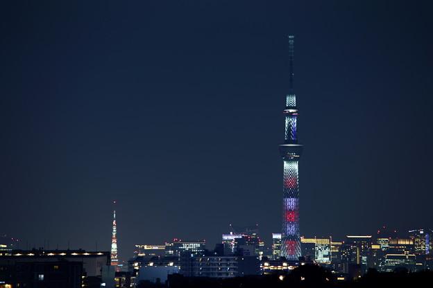 Photos: 東京スカイツリー 特別ライティングver.