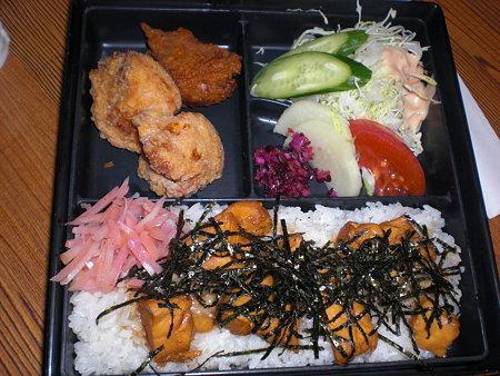 とりめし定食730円