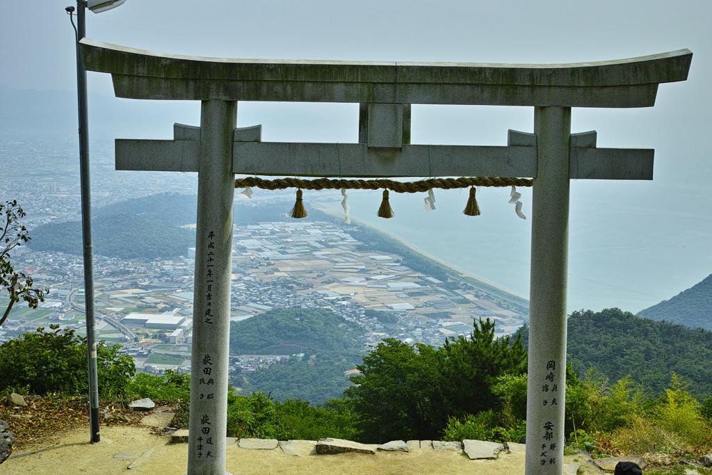 天空の鳥居(高屋神社) #7