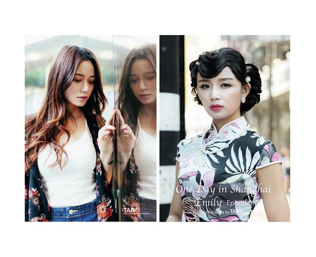 上海ポートレート写真集オンライン販売中です