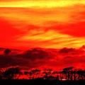 サロベツの日没