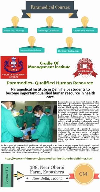 Paramedical Institute in Delhi NCR