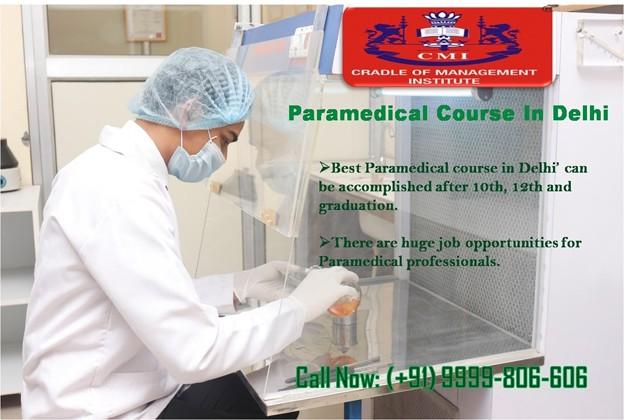 Paramedical Course in Delhi