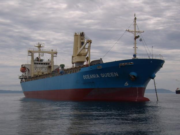 Cargo ship - OCEANIA QUEEN