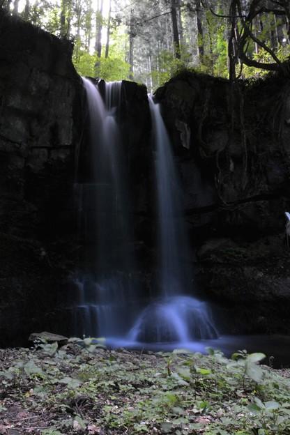 小僧不動の滝