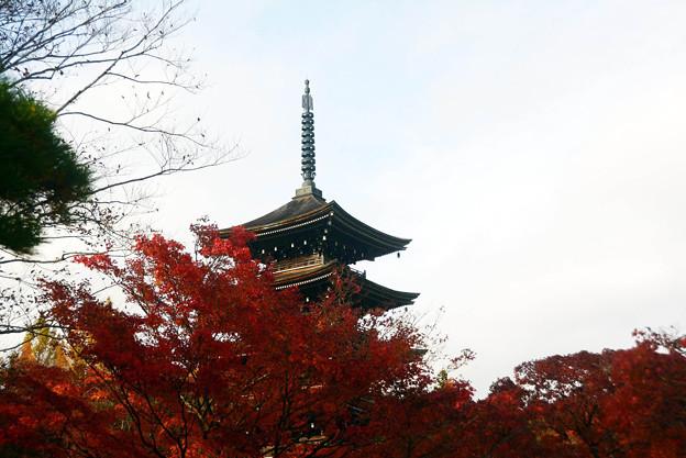 西方寺五重塔
