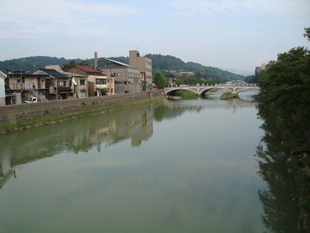 060.浅野川と浅野川大橋