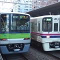 10-300RとPQ台車の並び@東京都笹塚駅