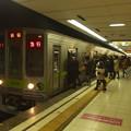 Photos: 京王新線初台駅2番線 都営10-270F急行新線新宿行きラッシュ