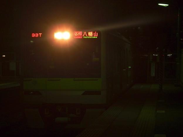 京王線代田橋駅1番線 都営10-420F各停八幡山行き進入