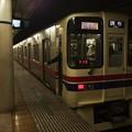 Photos: 京王新線幡ヶ谷駅1番線 京王9043区急調布行き停止位置よし
