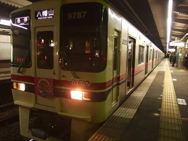 京王線代田橋駅1番線 京王9037各停八幡山行き