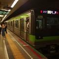 都営新宿線馬喰横山駅1番線 都営10-520F各停新宿行き停止位置よし
