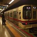 写真: 都営新宿線馬喰横山駅1番線 京王9047F各停橋本行き停止位置よし