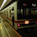 写真: 都営浅草線日本橋駅2番線 京成3441Fエアポート快特高砂行き停止位置よし