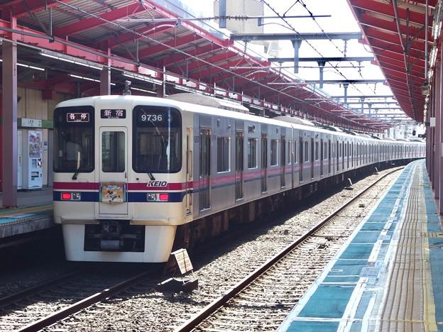Photos: 都営新宿線船堀駅1番線 京王9036各停新宿行き