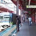 都営新宿線船堀駅1番線 都営10-580各停新宿行き進入