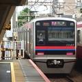 京成線立石駅2番線 京成3027F快速佐倉行き後方よし