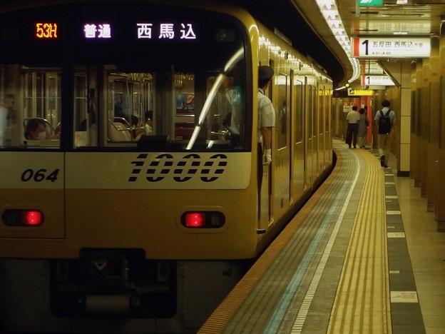 都営浅草線高輪台駅1番線 京急1057普通西馬込行き前方確認(2)