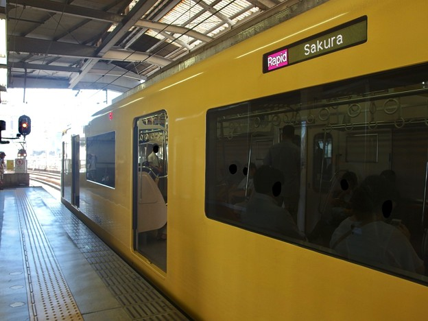 京急線京急品川駅2番線 京急1057快速佐倉行き(2)