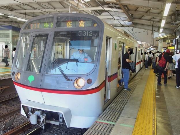 京急線京急品川駅2番線 都営5312F快速佐倉行き