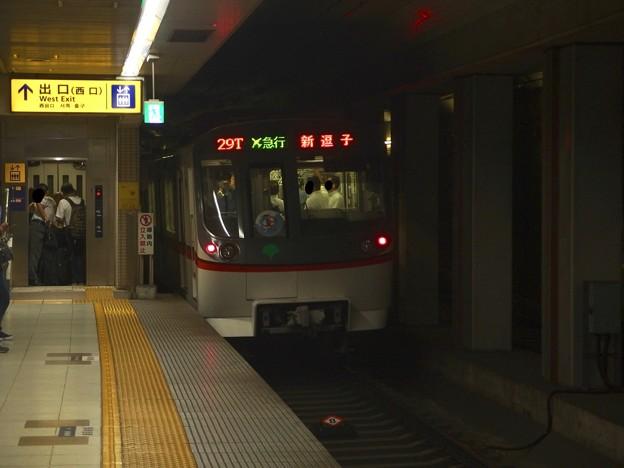 京急線大鳥居駅2番線 都営5311Fエアポート急行新逗子行き後方よし