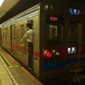 写真: 都営浅草線東銀座駅1番線 京成3678F普通西馬込行き停止位置よし