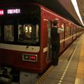 都営浅草線三田駅2番線 京急1731F特急印旛日本医大行き側面よし