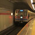 Photos: 都営浅草線五反田駅2番線 京成3658快速特急成田行き前方確認2