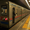 Photos: 都営浅草線馬込駅2番線 京成3658F快速佐倉行き停止位置よし
