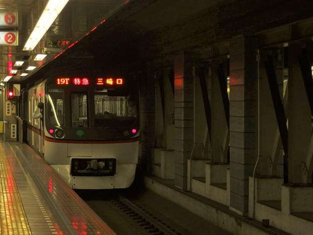 都営浅草線押上駅2番線 都営5324F特急三崎口行き前方確認(2)