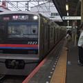 京成押上線立石駅1番線 京成3027F普通三崎口行き進入(2)