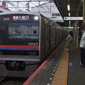 Photos: 京成押上線立石駅1番線 京成3027F普通三崎口行き進入(2)