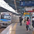 Photos: 京急線平和島駅3番線 京成3051Fエアポート急行成田空港行き進入