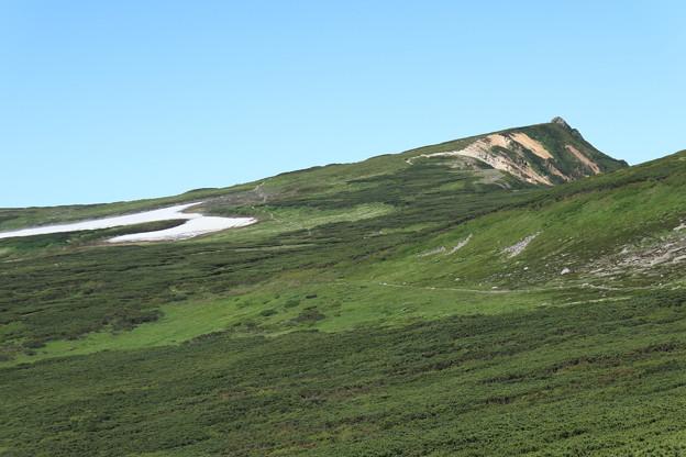 化雲岳へと続く道