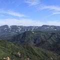 Photos: 化雲岳山頂から旭岳を望む