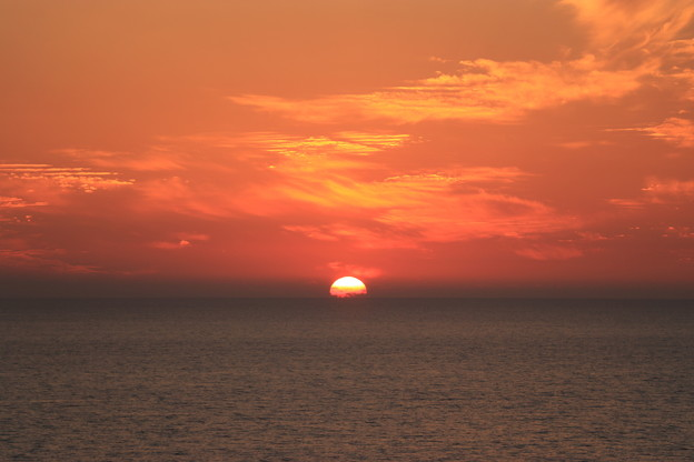Photos: 日本海に沈む夕日3