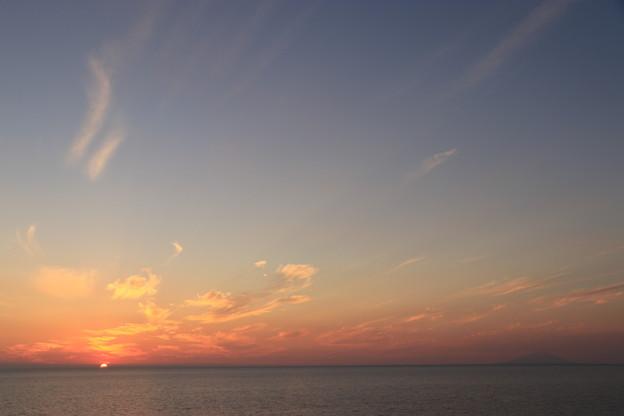 写真: みさき台公園の夕焼け