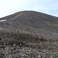 Photos: 裏旭から見る旭岳