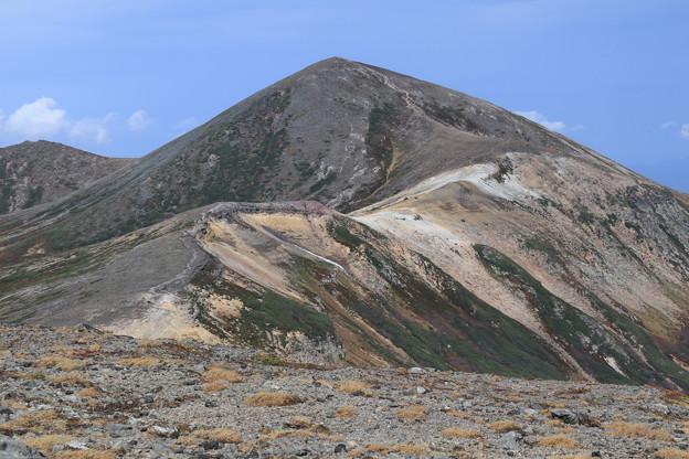 間宮岳から見る北鎮岳