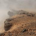 Photos: 稜線に押し寄せる雲