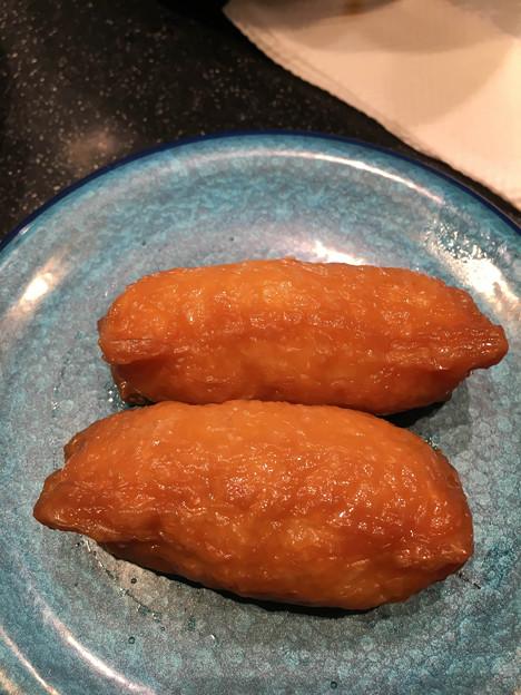 いなり寿司+わさび