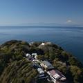 江の島から見る富士