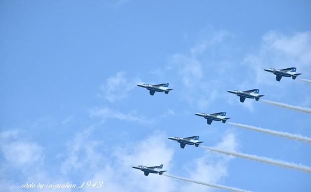 Photos: ブルーインパルス展示飛行