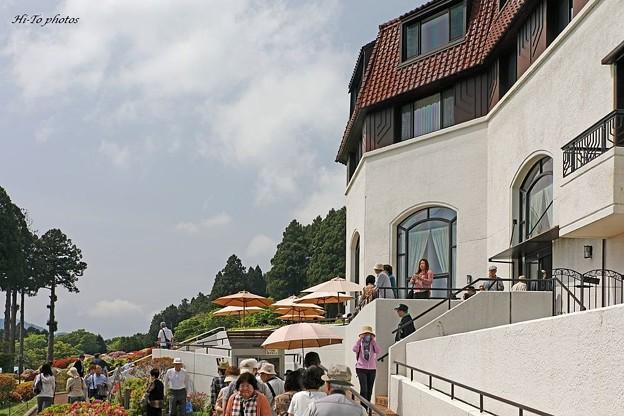 初夏の山のホテル