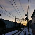 写真: 冬の朝