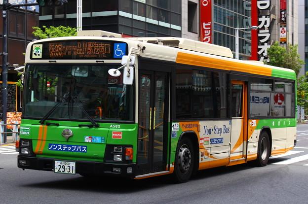 都営バスY-A582